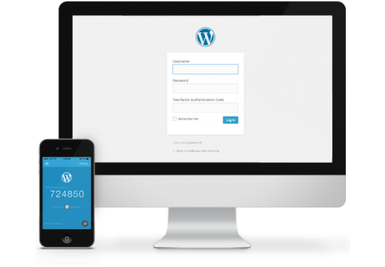 iTheme's WordPress Two Auth Login example