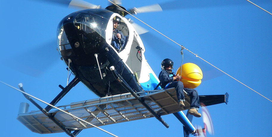 Portfolio hero image for the AeroPower website